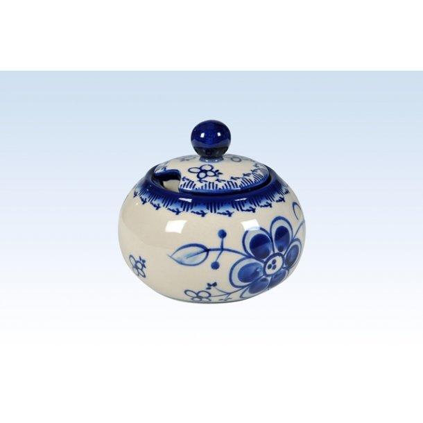Sukkerskål H 9 cm Art Blue 296