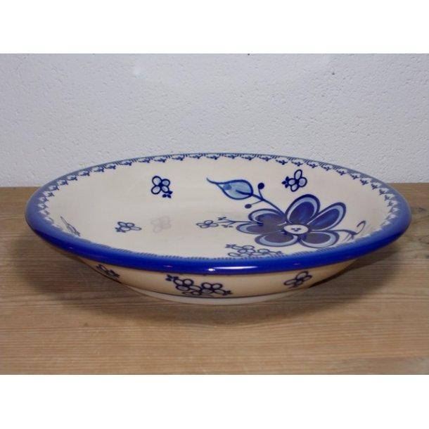 Dyb Tallerken dia, 22 cm, Art Blue 296