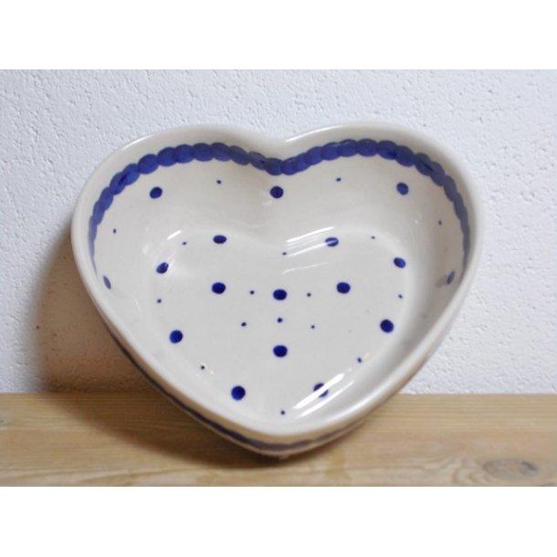 Hjerte Skål dia. 13,5 cm H 4,5 cm Nostalgi 1
