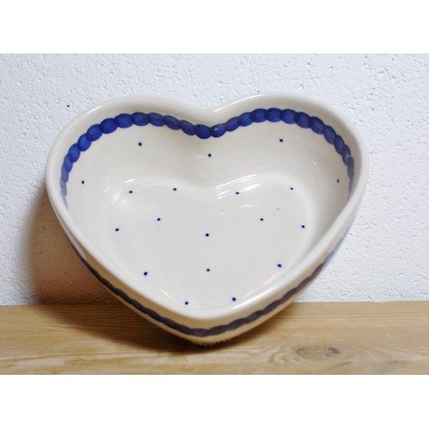 Hjerte Skål dia. 13,5 cm H 4,5 cm Nostalgi 9