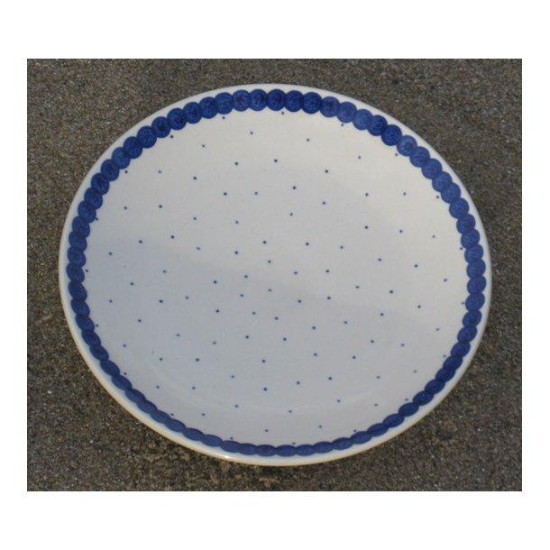 Håndmalet Frokost/Dessert Tallerken, Dia. 20 cm. Motiv Tradition 7m