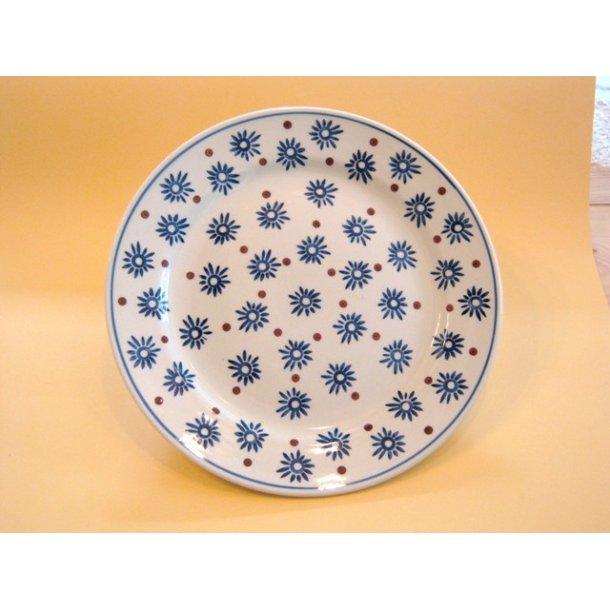 Spise/Middags Tallerken, Dia. 25 cm. Motiv Tradition 12