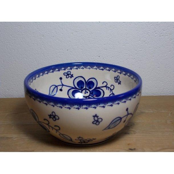 Skål dia. 19 cm H 9,5 cm Art Blue 296
