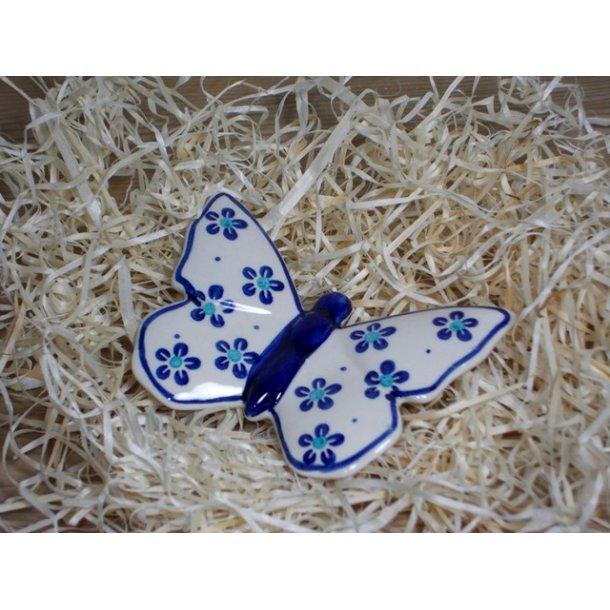 Sommerfugl i keramik Motiv Tradition 105a